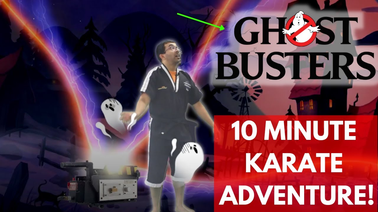 10 Minute Kids Karate Lesson | Ghost Busters