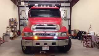 Dump Truck Install w/ Feniex Apollo F6 Lights