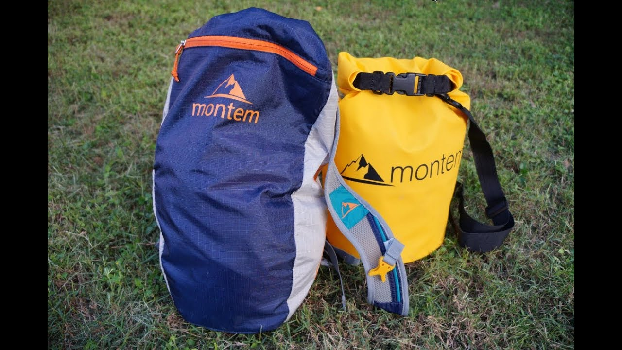 60fb71230b37 Montem Diadema Day Bag   Oceanum Dry Bag Review - YouTube