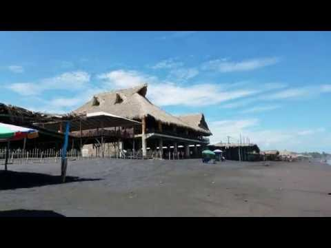 Playa El Majahual, La Libertad, El Salvador 4k Resolution
