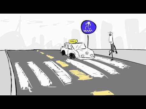 Georgian Traffic laws - animation [საქართველოს საგზაო წესები] - ანიმაცია