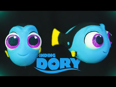 """BABY DORY """"TUTORIAL"""" ✔POLYMER CLAY"""