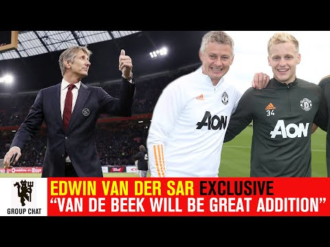 "Edwin van der Sar Exclusive: ""Donny van de Beek will be a great addition at Old Trafford"" 