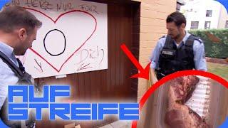 Schweinerei! Echtes Herz vor der Garage! | Auf Streife | SAT.1
