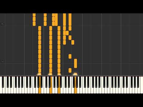 We Dreamed In (Anberlin) - Piano tutorial