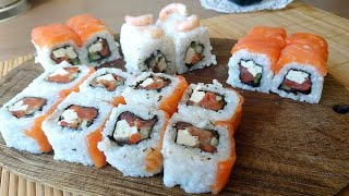 Суши Филадельфия ролл Рис для суши в домашних условиях