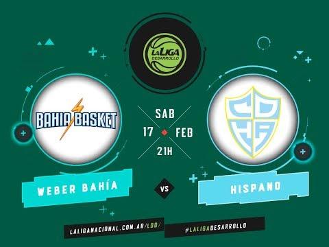 #LaLigadeDesarrollo | 17.02.2018 Bahía Basket vs. Hispano Americano