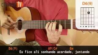 Sozinho - Caetano Veloso (aula de violão simplificada)