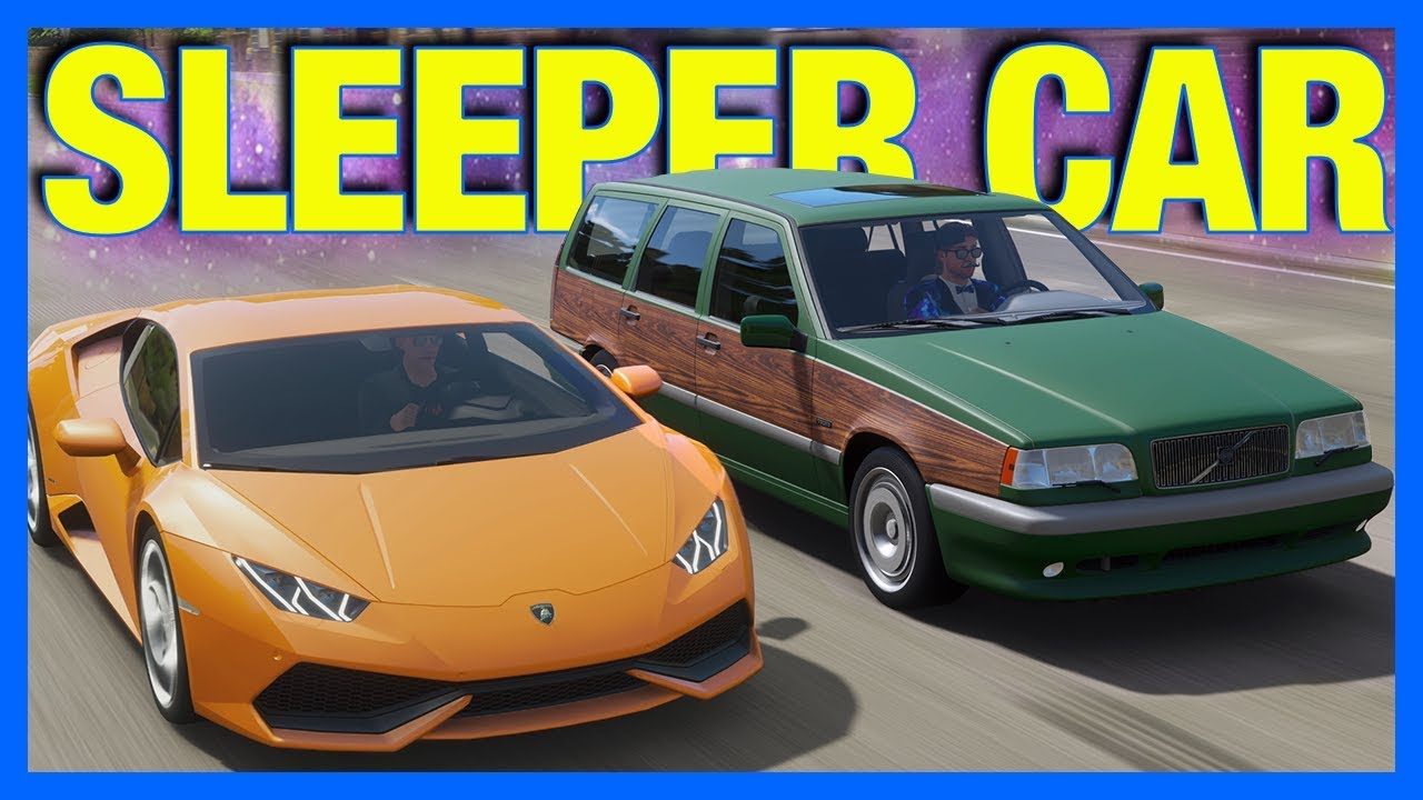forza horizon 4 online the ultimate sleeper car youtube. Black Bedroom Furniture Sets. Home Design Ideas