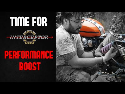 ROYAL ENFIELD INTERCEPTOR 650 & GT 650| DNA PERFORMANCE AIRFILTER UPGRADE | INSTALLATION AND REVIEW