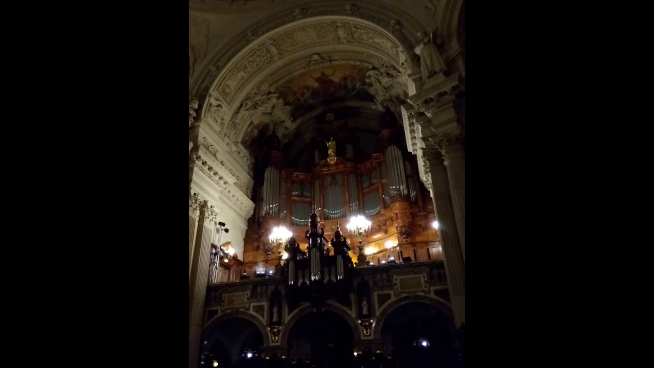 Konzert Im Berliner Dom Youtube