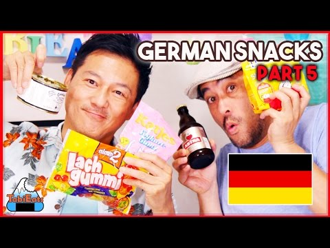 Japanese Try German Food, Beer and Snacks! (GERMANY PART 5)