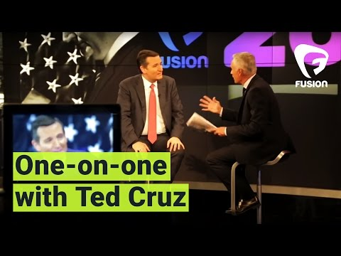 Jorge Ramos goes one-on-one with Ted Cruz