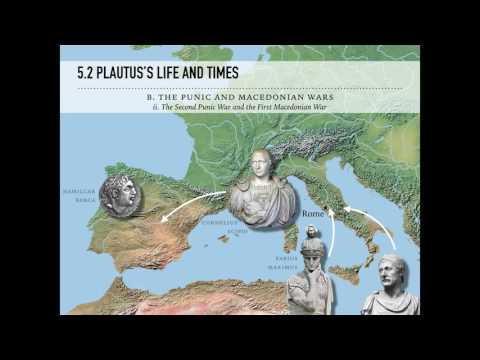 Sample Online Lecture - Plautus's Life and Times