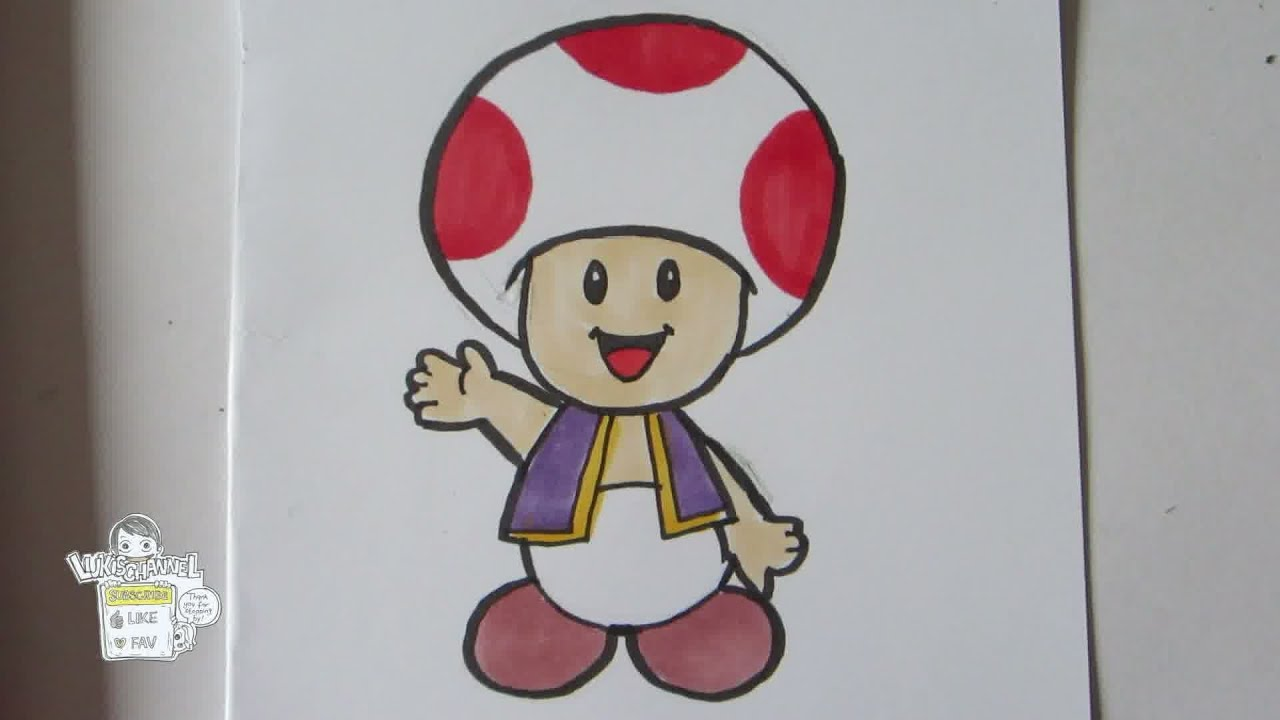 This is an image of Gratifying Easy Mario Drawing