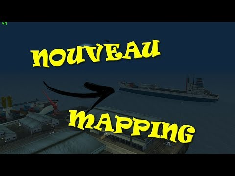 (SAMP EDITOR) MAPPING MODIFIER + BATEAU POUR JOB ILLEGAL