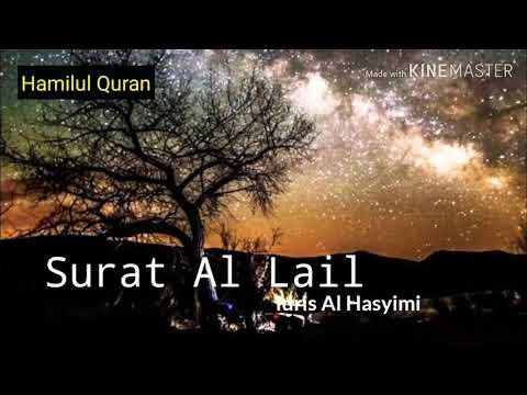 surat-092-al-lail-|-murottal-anak-merdu-|-idris-al-hasyimi
