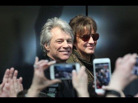Bon Jovi & The Moody Blues attend Rock Hall's new floor premiere