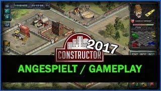 ANGESPIELT / TEST - CONSTRUCTOR HD 2017   Landvogt4711 (Gameplay, Test, German, Deutsch)