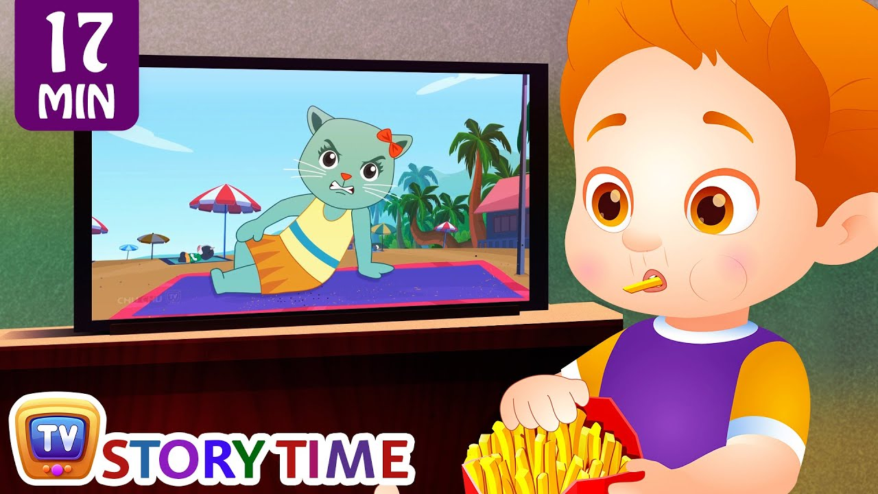 Good Habits Moral Stories & Bedtime Stories for Kids in English Collection 2 - ChuChu TV Storyti