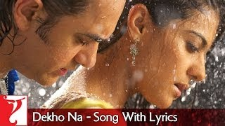 Lyrical: Dekho Na Song with Lyrics | Fanaa | Aamir Khan | Kajol | Prasoon Joshi