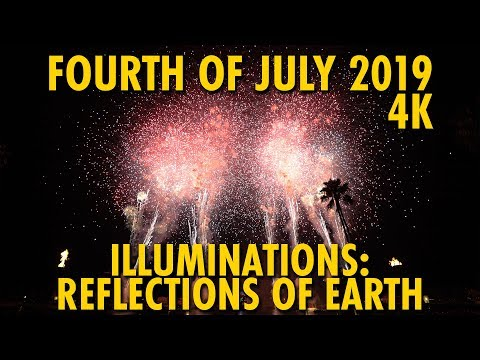 Fourth Of July IllumiNations: Reflections Of Earth With The Heartbeat Of Freedom 4K | Epcot