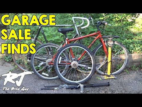 Garage Sale Finds - Gary Fisher Gitche Gumee, Bridgestone 400, And More