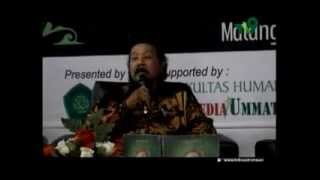 Prof KH Agus Sunyoto & M Sony Fauzy M .pd ; UIN Malik Ibrahim Malang , Nov 2014