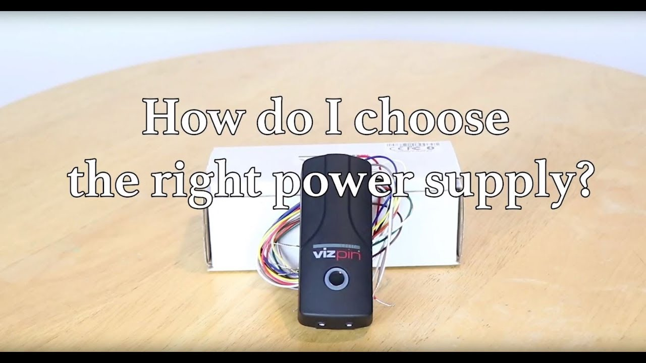 how to get right power supply