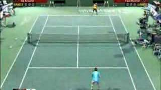PELIPUTKA - Virtua Tennis 3 (PS3) Gameplay video