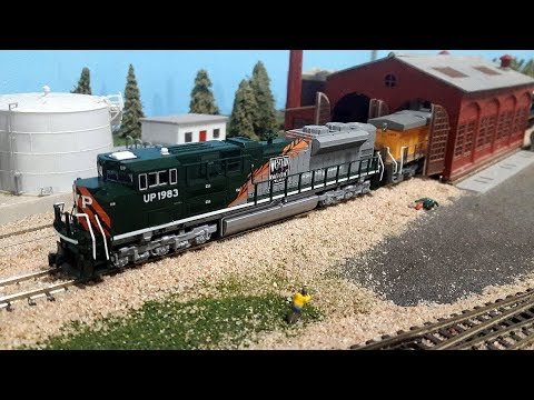 2017 Great Train Show with the Heartland N-Trak Club - Day1