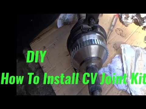 How To Replace Peugeot Expert CV Joint DIY