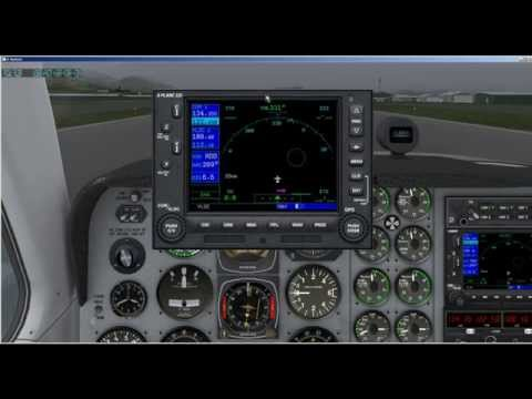 How to use the Garmin 530 GPS in X Plane10 - Tutorial Part 1