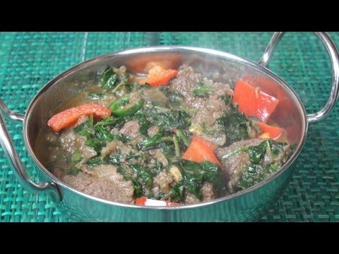 Sag Gosht (Lamb and Spinach Curry) Recipe