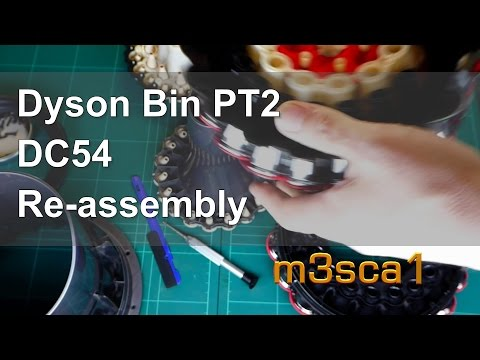 Dyson Cyclone Bin Re-assembly DC 54