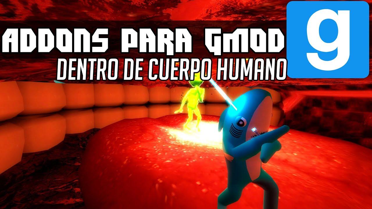 Garry\'s Mod Addons: DENTRO DEL CUERPO HUMANO! | Descargar Addons por ...