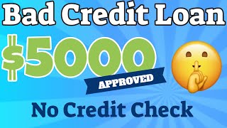 How To Get $5k Opploans Personal Loans For Bad Credit No Credit Check (or No Credit Score) 2021