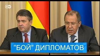 Битва дипломатов, или словесная перепалка Габриэля с Лавровым