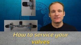 How to: Service your scuba valves