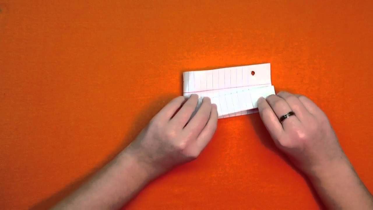 how to make a loud paper popper youtube