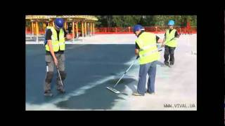 Упрочнение и покраска бетонного пола С2 Колор Хард