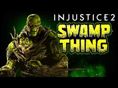 Injustice 2 - Official Swamp Thing Gameplay Tutorial