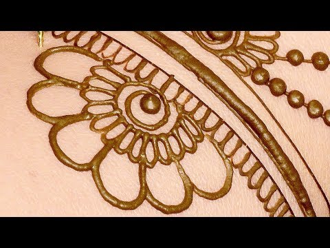 Mehndi Design for Front Hands | Easy Mehndi Design For Hands by Sonia Goyal #046