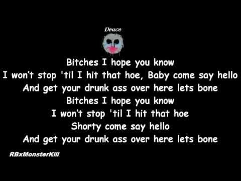 Hollywood Undead - Bitches (W/Lyrics)
