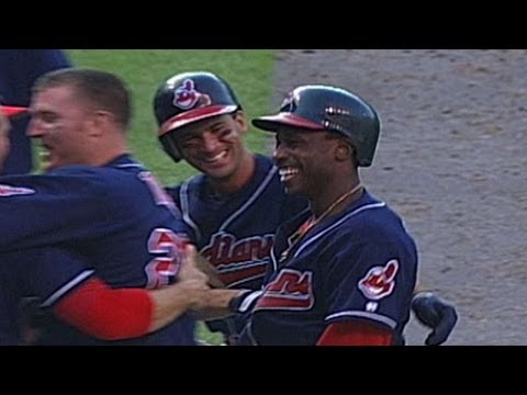 BAL@CLE: Kenny Lofton has historic offensive day