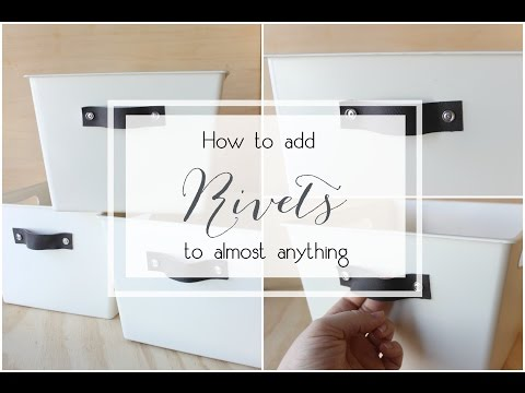 How to Add Rivets to Anything
