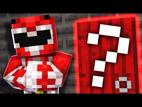 Red Ranger SECRET ROOM! Minecraft Power Rangers Hide N Seek
