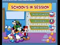 Mickey Mouse Online Games Mickey Mouse School in Session Game