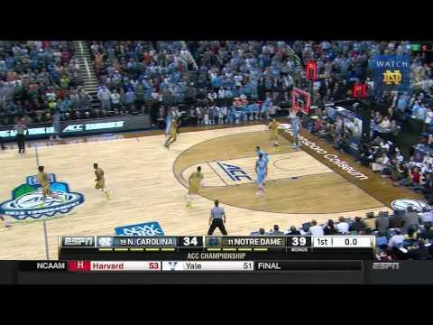MBB - ACC Championship vs. UNC Highlights