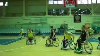 Баскетбол на колясках (БасКИ 59 - 63 Невский Альянс)